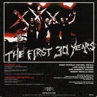 METALLICA The First 30 Years Vinyl Record 7 Inch US We're Only In It For The Music 2012